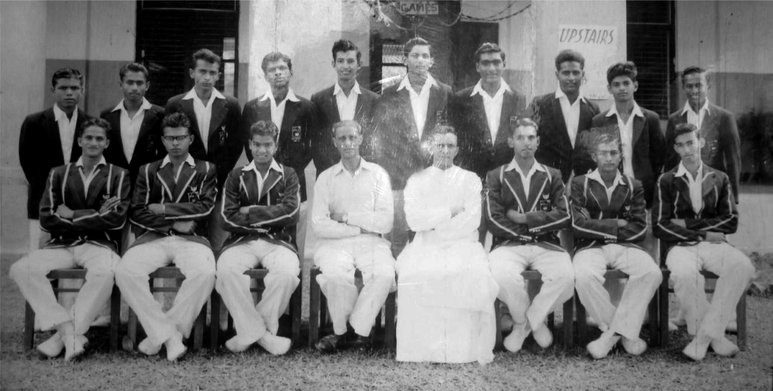 St. Anthony's College (Katugastota) 1st XI Cricket 1957