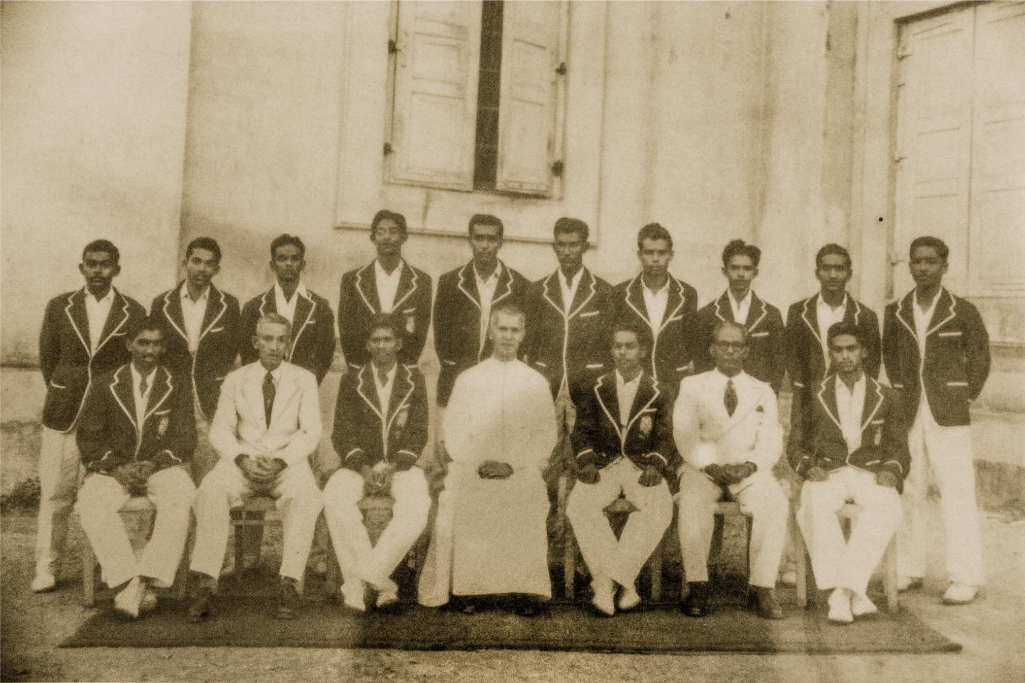 St. Benedict's College 1st XI Cricket 1957