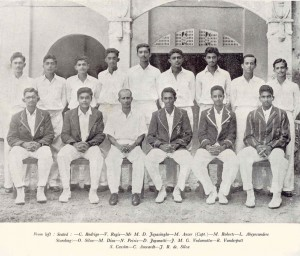 1956 St Aloysius 1st XI Cricket