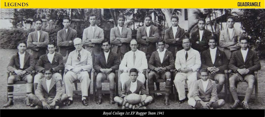 Royal College 1st XV 1941