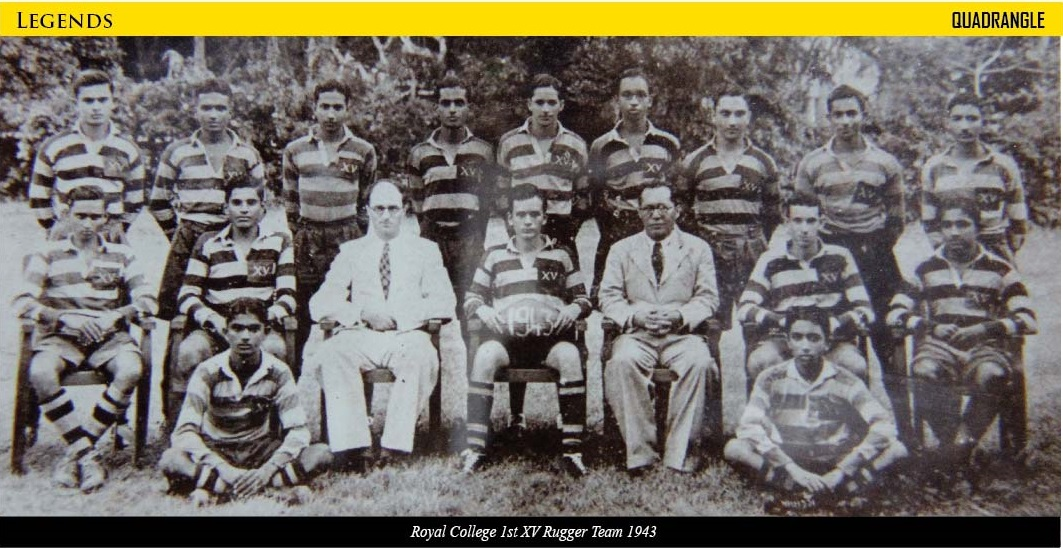 Royal College 1st XV 1943
