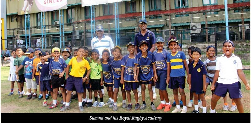 Summa training young Royalists