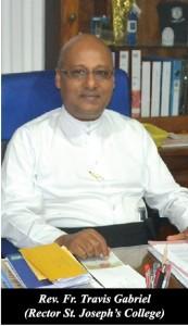 Fr. Travis Gabriel, Rector St. Joseph's College