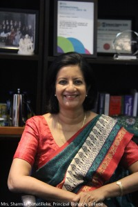 Mrs. Sharmila Gunatilleke, Principal Bishop's College