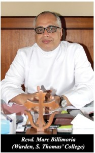 Rev'd Marc Billimoria, Warden S.Thomas' College Mt. Lavinia