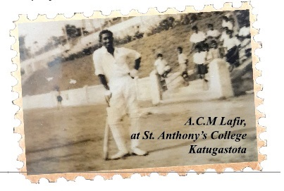 ACM Lafir at Katugastota Grounds, St. Anthony's College 1950's