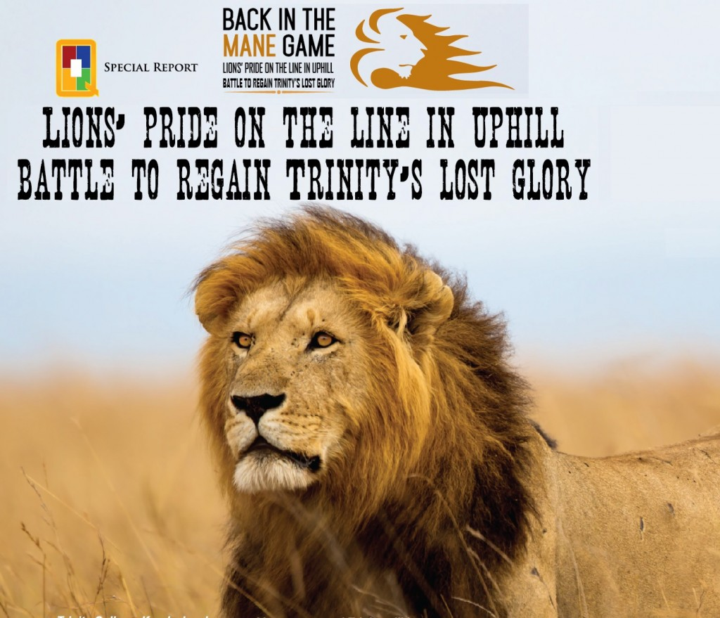 Back in the Mane Game - Trinity Rugby
